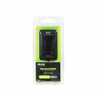 HUB USB 4 PUERTOS LINK K3276 NEGRO