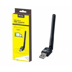 MTK ADAPTADOR USB MINI WIFI GT837 150MBPS 2DBI