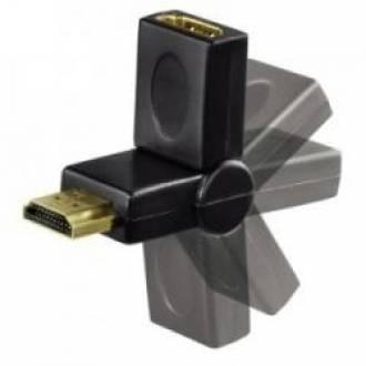 ADAPTADOR FLEXIBLE HDMI MACHO HEMBRA
