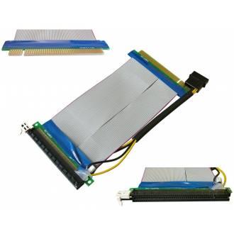 CABLE ADAPTADOR PCI EXPRESS 16X CON ALIMENTACION 15CM