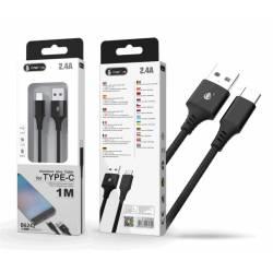 CABLE DATOS USB 3.0 A TYPE-C B6242 2.4A 1 METRO