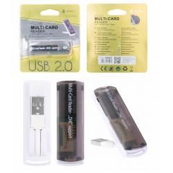 LECTOR TARJETAS USB EXTERNO M3098 ONE+