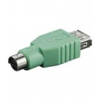 ADAPTADOR USB A HEMBRA ---> MINIDIN 6 MACHO