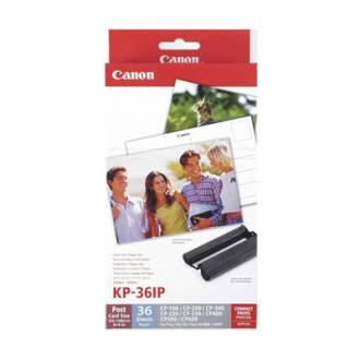 CANON CP100/200/300 + TARJETA POSTAL 10x15 36 HOJAS