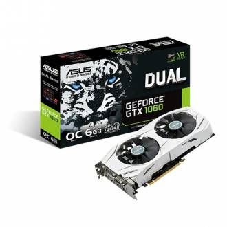 TARJETA GRAFICA ASUS GEFORCE GTX 1060 6GB-GDDR5 2*DP 2*HDMI 1*DVI-D