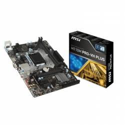 PLACA BASE MSI H110M PRO-VH S1151 MATX 2*DDR4 VGA HDMI