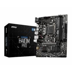 PLACA BASE MSI H410M-A PRO 1200 MATX 2*DDR4 NVME HDMI DVI-D