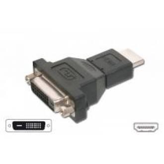 ADAPTADOR HDMI TIPO A MACHO   ---> DVI-D HEMBRA