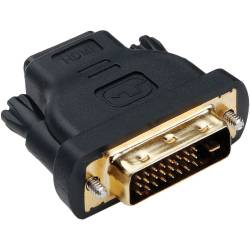 ADAPTADOR HDMI TIPO A HEMBRA ---> DVI-D MACHO