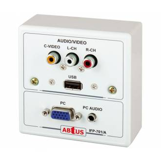 ROSETA MULTIMEDIA VGA - AUDIO/VIDEO RCA - USB (METAL)