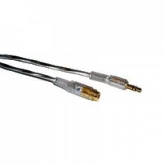 CABLE AUDIO-VIDEO 2XSTEREO 3.5 mm MACHO ---> HEMBRA HQ 2 Mts. (C-14)