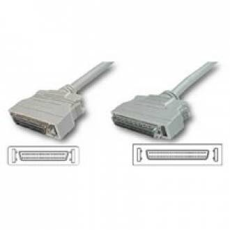 CABLE SCSI 68 HALF PITCH 68 D-SUB MACHO ---> 50 D-SUB MACHO DE 0.9 Mts. (C-8)