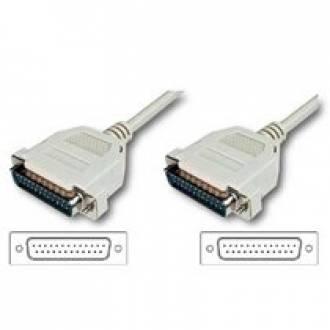 CABLE INTERLINK/LAPLINK DB 25 MACHO ---> MACHO DE 3 M.