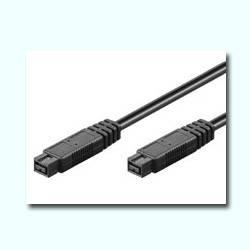 CABLE FIREWIRE 800 IEEE 1394B 9 MACHO ---> MACHO DE 1.8 M. (C-11)