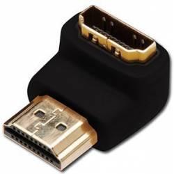 ADAPTADOR HDMI TIPO HDMI-A MACHO A HDMI-A HEMBRA ANGULADO