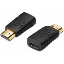 ADAPTADOR MINI HDMI HEMBRA A HDMI MACHO