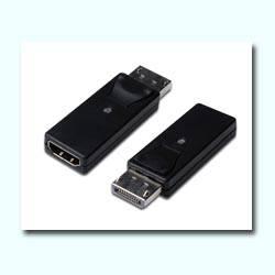 ADAPTADOR DISPLAYPORT HDMI TIPO A MACHO ---> HEMBRA