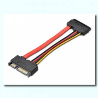 CABLE EXTENSION SERIAL ATA III 22 PIN MACHO / HEMBRA 15 CMTS. (C-5)