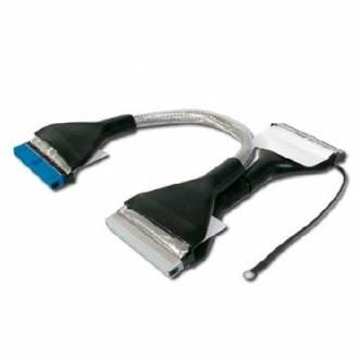 CABLE REDONDO IDE ULTRA DMA 133 DE 60 CMS.