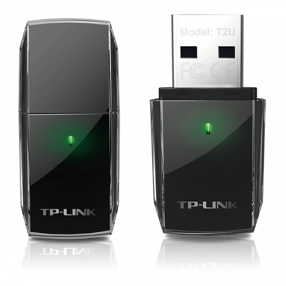 TP-LINK ADAPTADOR USB WIFI 600 (433+150) MBPS NANO BANDA DUAL ARCHER T2U