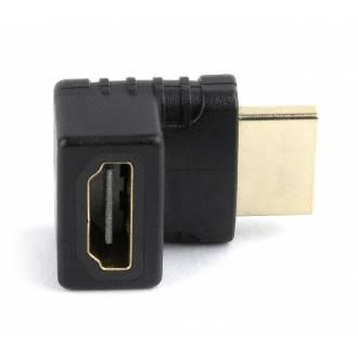 ADAPTADOR GEMBIRD HDMI HEMBRA A HDMI MACHO 270º ANGULO IZQUIERDO