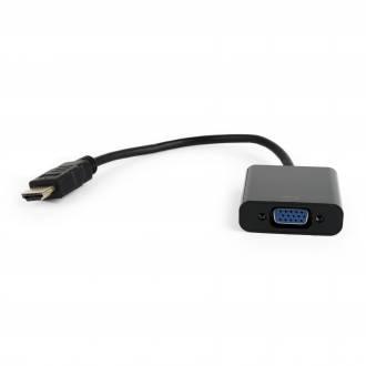 GEMBIRD CONVERTIDOR PASIVO COMPACTO HDMI A VGA SIN AUDIO