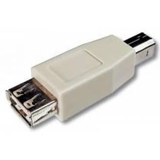 ADAPTADOR USB A HEMBRA --> B MACHO