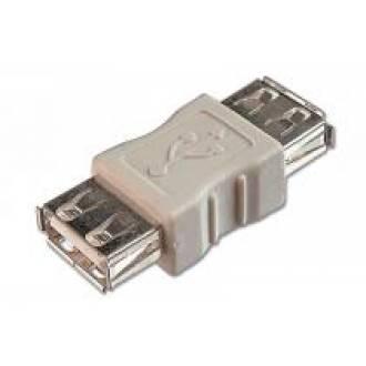 ADAPTADOR USB A HEMBRA --> A HEMBRA