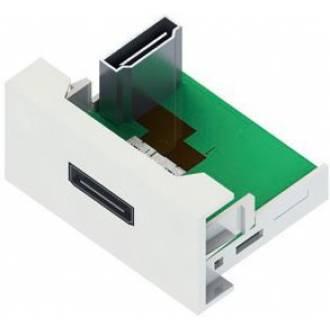 ROSETA MULTIMEDIA MODULO HDMI HEMBRA PARA (45x45mm)
