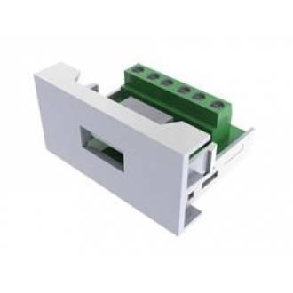 ROSETA MULTIMEDIA MÓDULO USB TIPO HEMBRA (45x22,5mm)