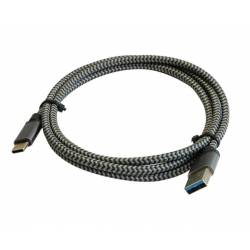 3GO CABLE DATOS USB 3.0 A TYPE-C 1.2MTS