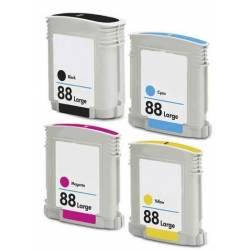 COMPATIBLE CON HP Nº 88 XL OfficeJet PRO K550 MAGENTA