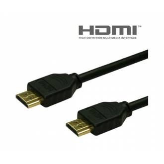 CABLE HDMI TIPO A DE 19 MACHO ---> MACHO DE   1.8 Mts.