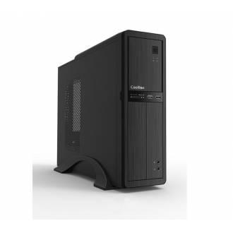 CAJA SLIM COOLBOX T300 500W mATX USB3.0 + LECTOR TARJETAS // PERFIL BAJO