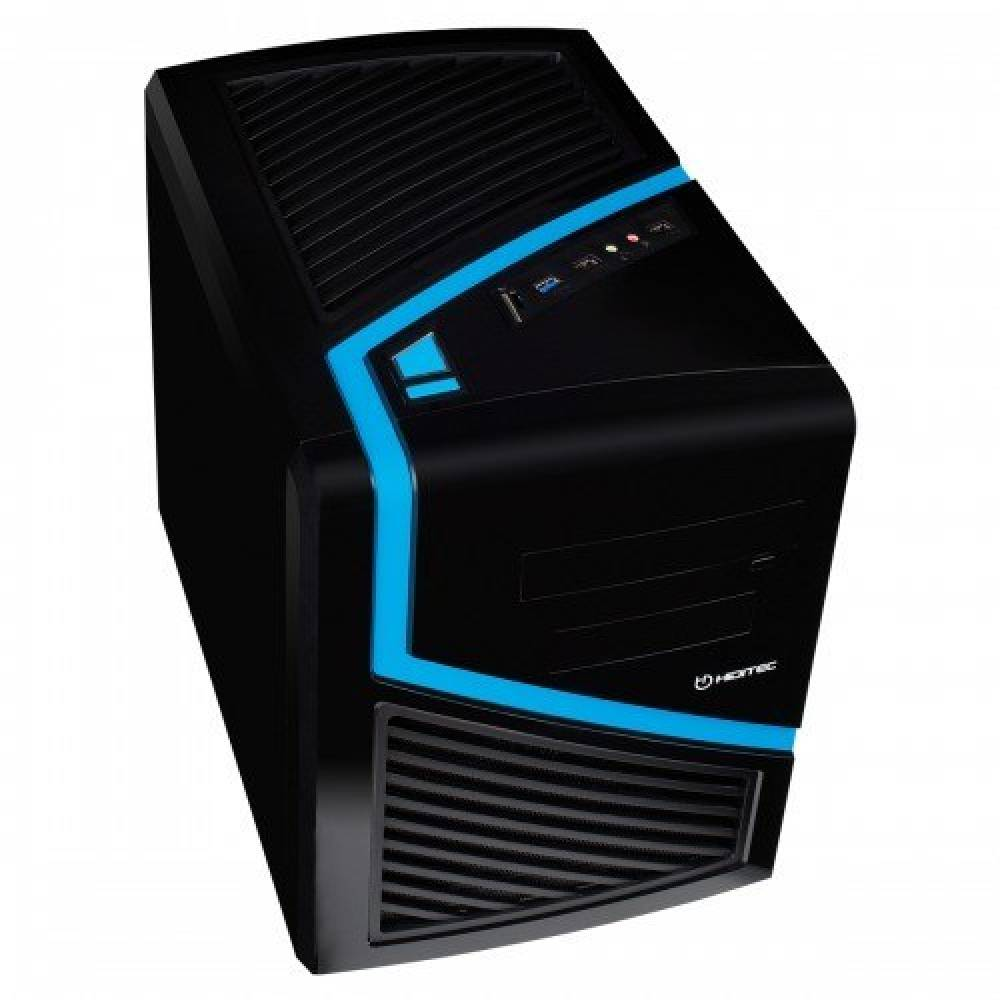 HIDITEC CAJA PC CUBE CAJA ATX DARK KUBE NEGRA USB 3. SIN FUENTE