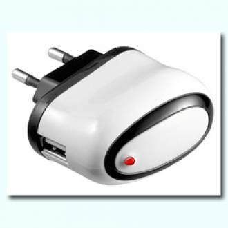 CARGADOR USB DE PARED 1A