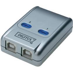 DIGITUS CONMUTADOR AUTOMATICO USB 2.0 2 PCS - 1 PERIFERICO