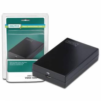 DIGITUS TARJETA GRAFICA EXTERNA USB - HDMI 1920x1080