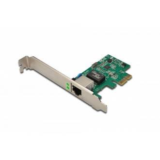DIGITUS TARJETA DE RED 10/100/1000 GIGABIT PCI EXPRESS PERFIL BAJO