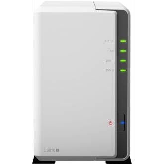 SYNOLOGY DISKSTATION DS218J - 2 BAHIAS