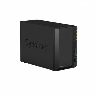 SYNOLOGY DISKSTATION DS218+ SERVIDOR NAS 2 BAHIAS INTEL CELERON 2CORE 2GB 1*GBLAN 2*USB3.0