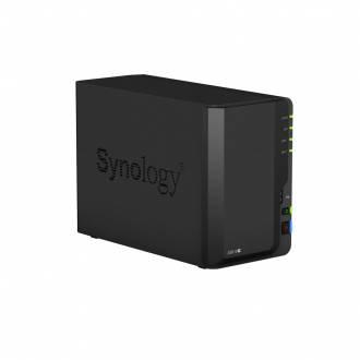 SYNOLOGY DISKSTATION DS218+ SERVIDOR NAS 2 BAHIAS INTEL CELERON 2CORE 2GB 1*GBLAN 2*USB3.0