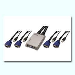 DIGITUS CONMUTADOR KVM 4 ---> 1 USB
