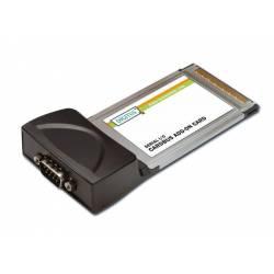 DIGITUS TARJETA PCMCIA 32 Bit > 1 PUERTO SERIE RS232