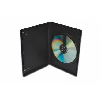 DIGITUS CAJA ARCHIVADOR NEGRO 1 DVD SLIM