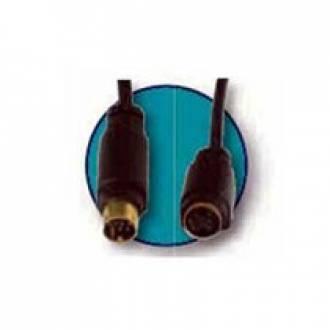 S-CABLE ADAPTADOR SVHS 4H - VHS 7M DE 15 CMS. (C-12)
