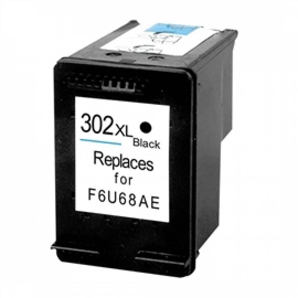 COMPATIBLE CON HP Nº 302 XL DeskJet 1110/2130/3630 NEGRO - 20 ml