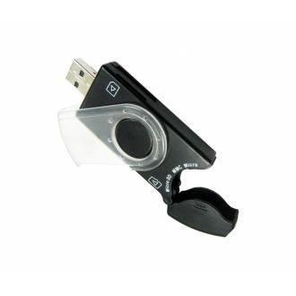 GEMBIRD LECTOR DE TARJETAS EXTERNO USB COMPACTO