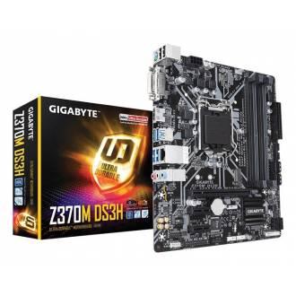 PLACA BASE GIGABYTE 1151 CF Z370M-DS3H MATX 4*DDR4 HDMI DVI RAID