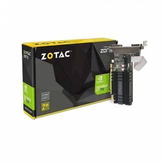 TARJETA GRAFICA GEFORCE GT710 2GB DDR3 PERFIL BAJO